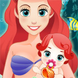 Ariel Give Birth To A Baby