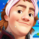 Frozen Kristoff Christmas Make Up